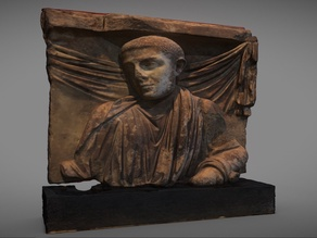 Fragment of sarcophagus