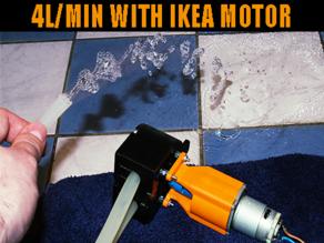 Peristaltic Pump With IKEA Motor (4 - 4.5l/min!)
