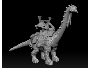 Brutosaur Mount Miniature