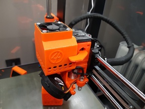 Prusa MK3S Extruder Cooler - With Filament cooler!