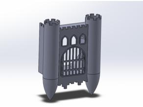 40mm Fan Cover - Castle Gateway