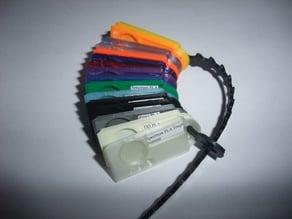 Micro filament sample card