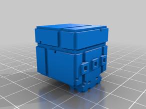 FEZ Skull Cube