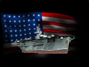 Warship - CVE-9 Bogue (1/10)