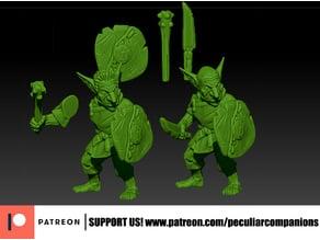 Armed Goblin Peasant