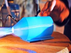 Mini Pulsejet Engine (3D Printable)
