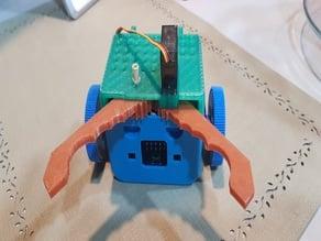 robotbit car with clamp