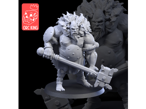 "Orc King Patreon ""Ogre Boss"" Sample"