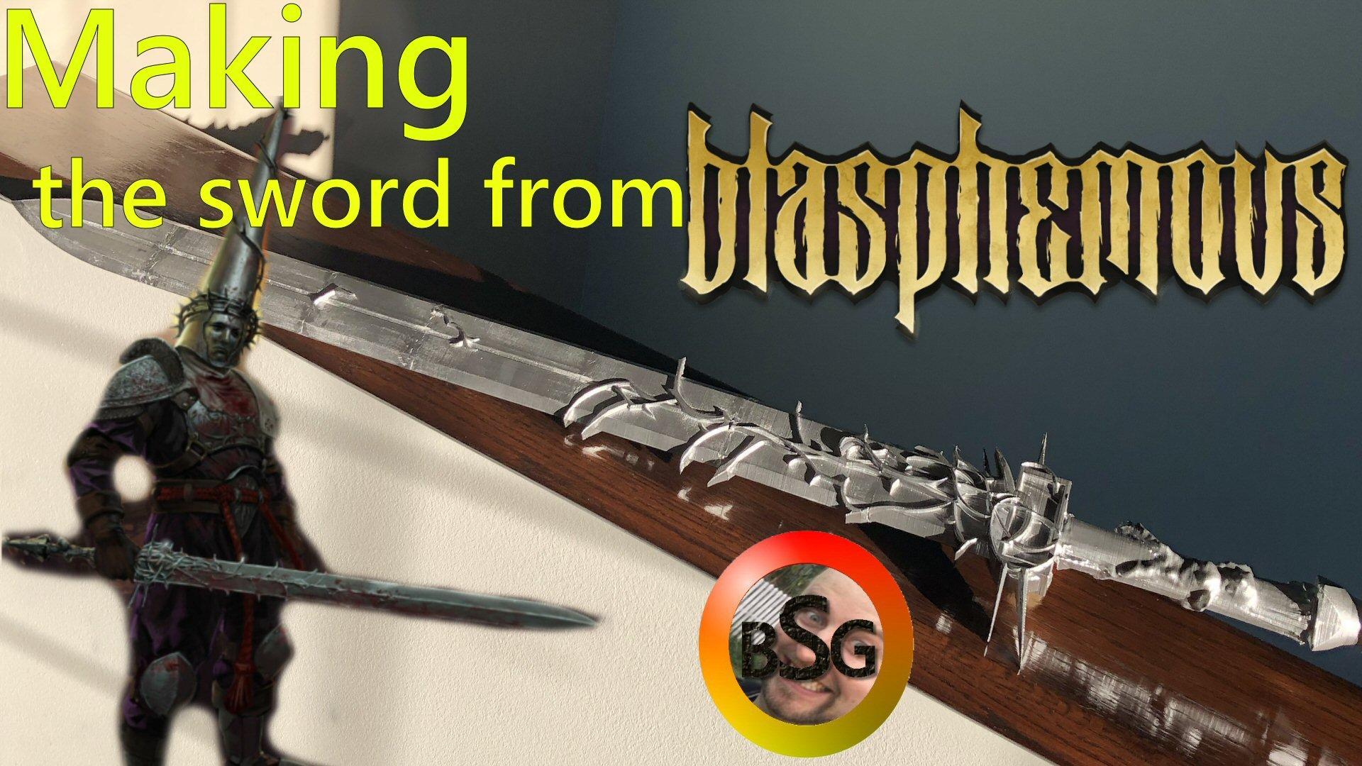 Sword from Blasphemous