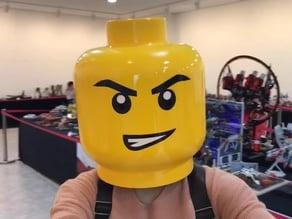 Life-Size LEGO Head/Helmet, for LEGO Cosplay