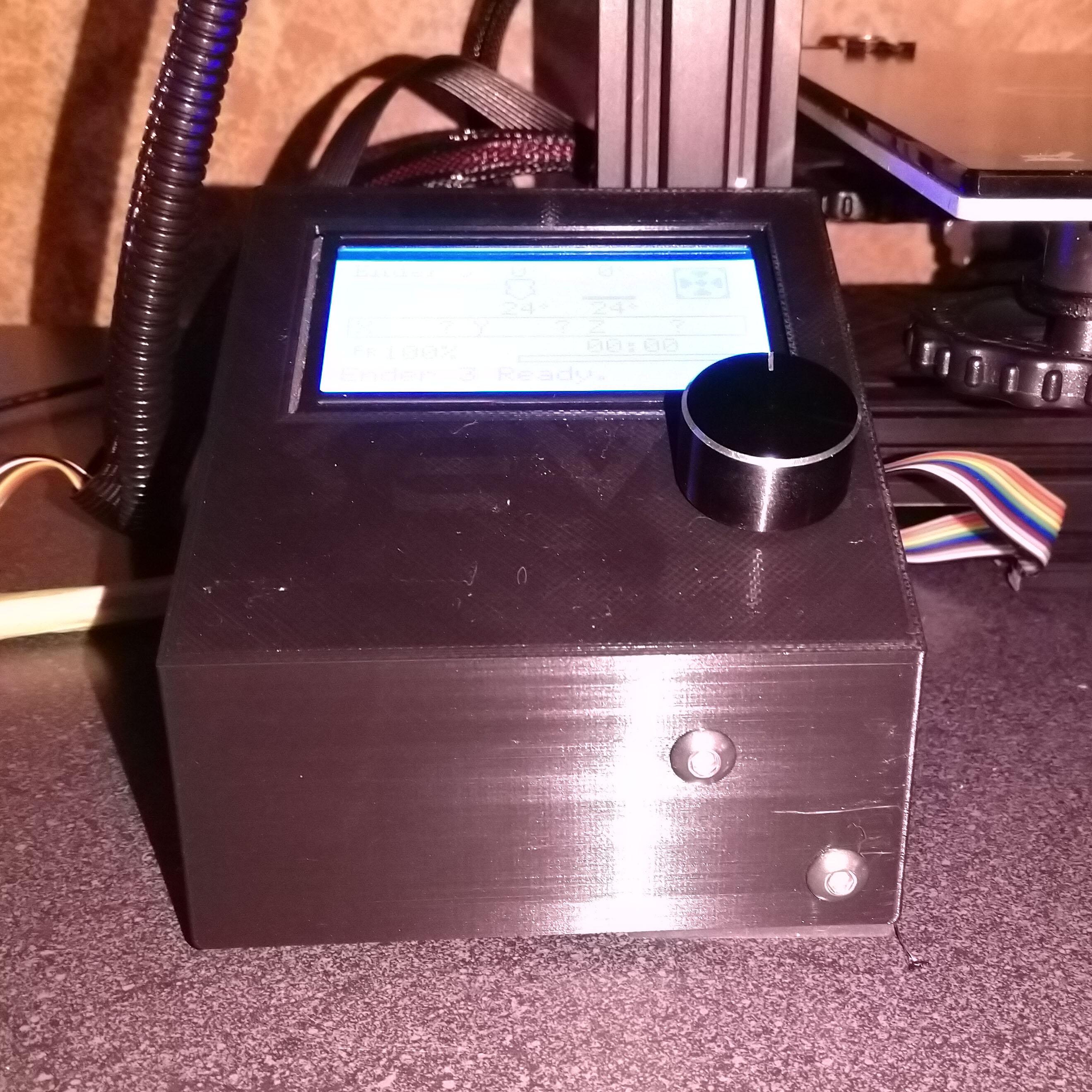 Ender 3 Left LCD Support