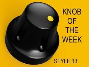 Knob style 13