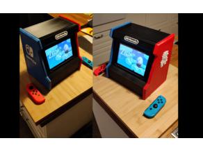 Nintendo switch arcade holder custom tweaks