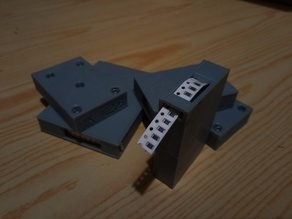Magazine for SMD components