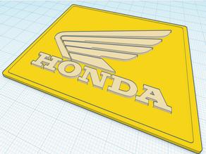 Honda Emblem Moped