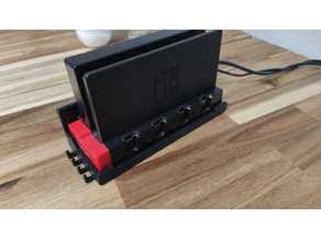 Wandhalter / Wallmount Switch mit / with Joy-Con Ladegerät / Charger