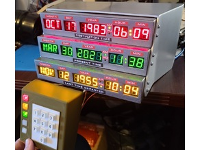Back to the Future Time Circuits Display