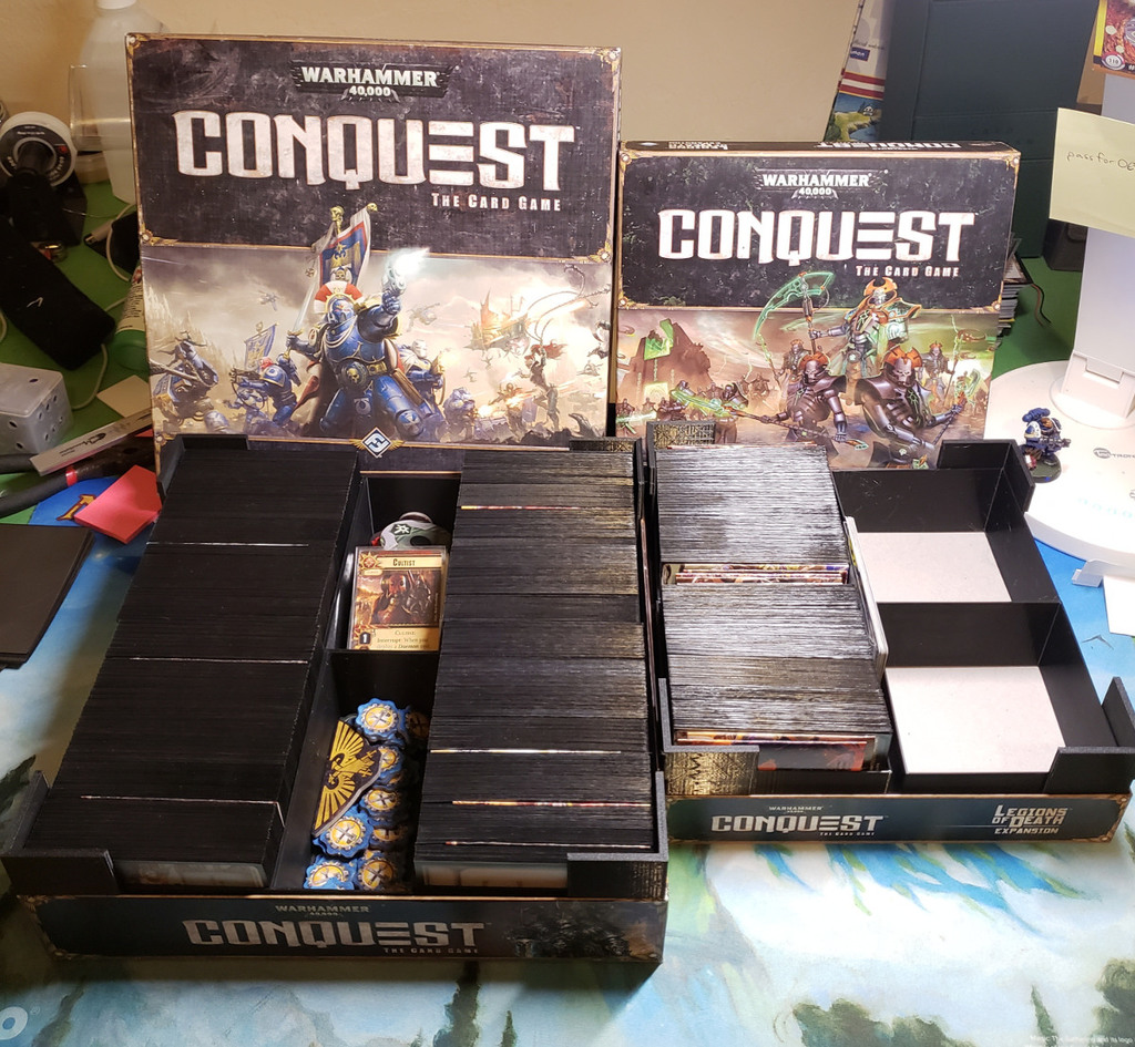 Warhammer Conquest Box Inserts