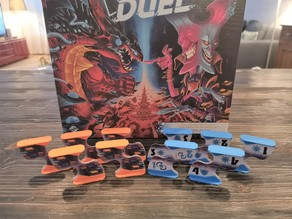 Cosmic encounter - duell - tactics stands