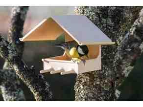 Mangeoire à oiseaux Support boule de graisse / Bird feeder fat ball holder