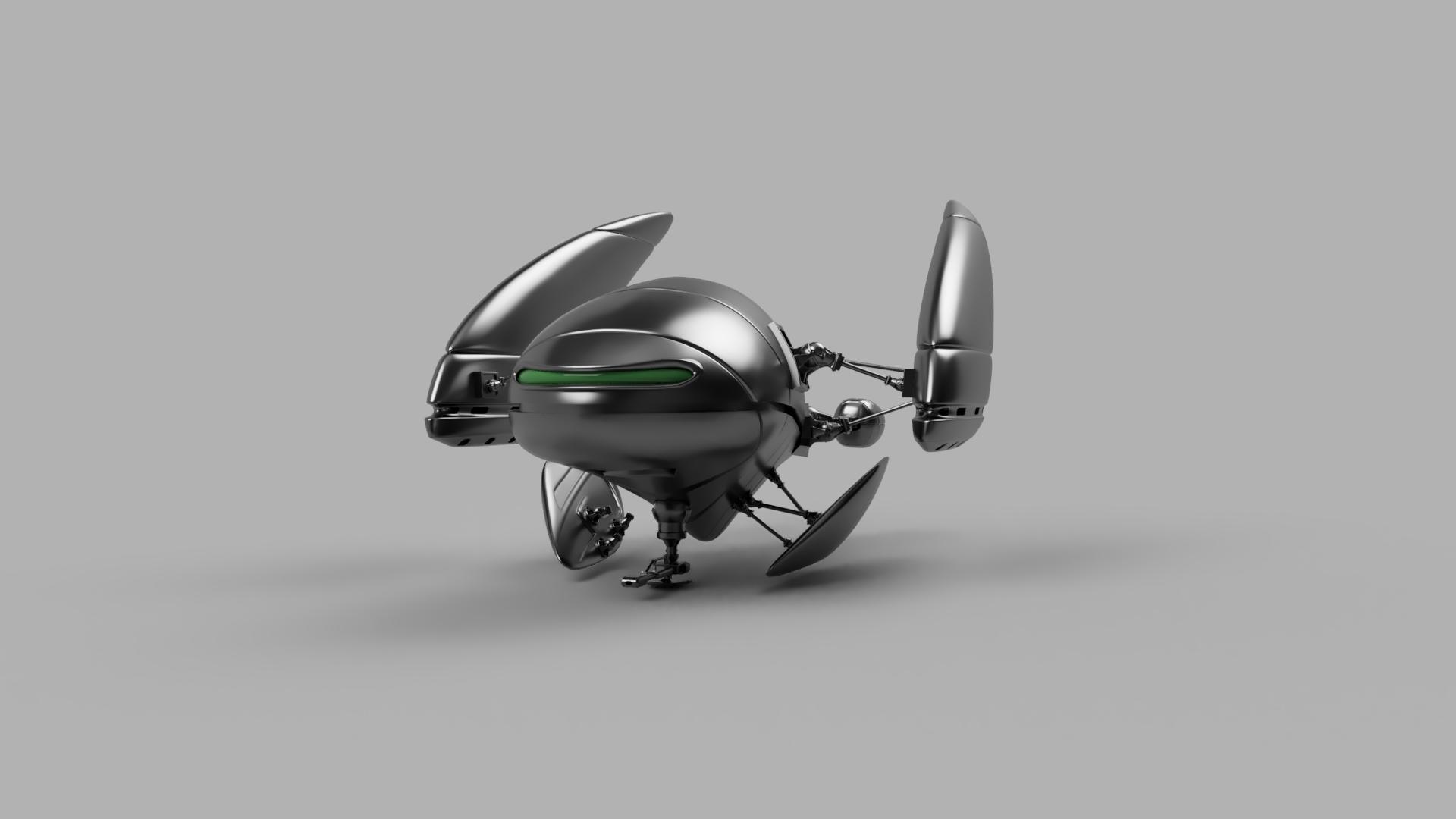 Jeff Wayne Martian Flying Machine