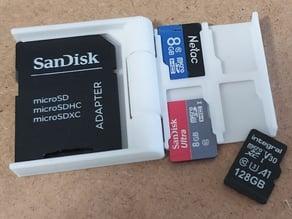 Mini MicroSD Card Case