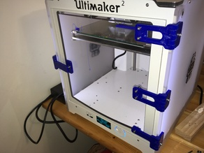 Ultimaker hinges for front door - 1 piece printed
