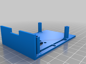 Ender 3 Raspberry Pi 23 mount_partial covered top slots_30mm