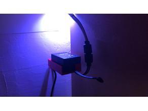 RGB Led Remote Control Receiver Holder