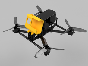 Gopro Hero 5/6/7 tpu mount for The Butterfly
