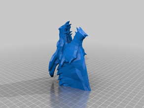Dragon Head Muzzle for Nerf