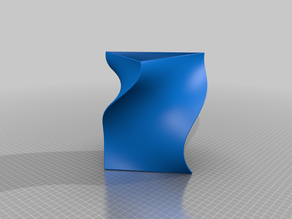 Vase, Twisted triangle