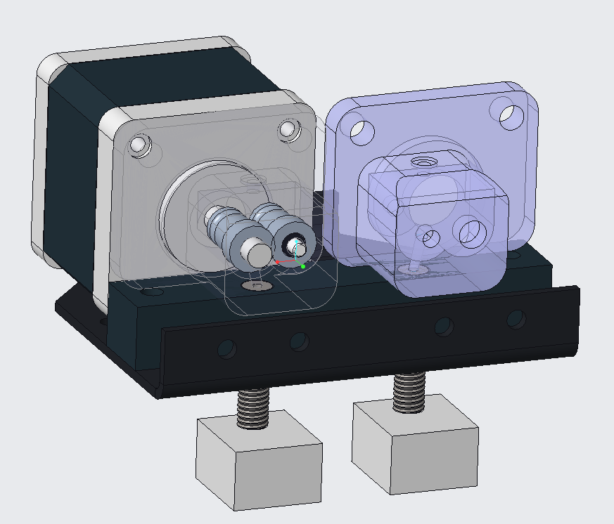 dual wheel extruder for i3proB/C; BMG extruder upgrade needed