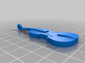 Simplified classic violin
