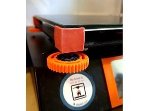 Anycubic i3 Mega Bedleveling Knob Gears