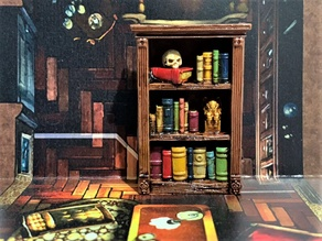 Mansions of Madness - Bookshelf / Bookcase - 28mm