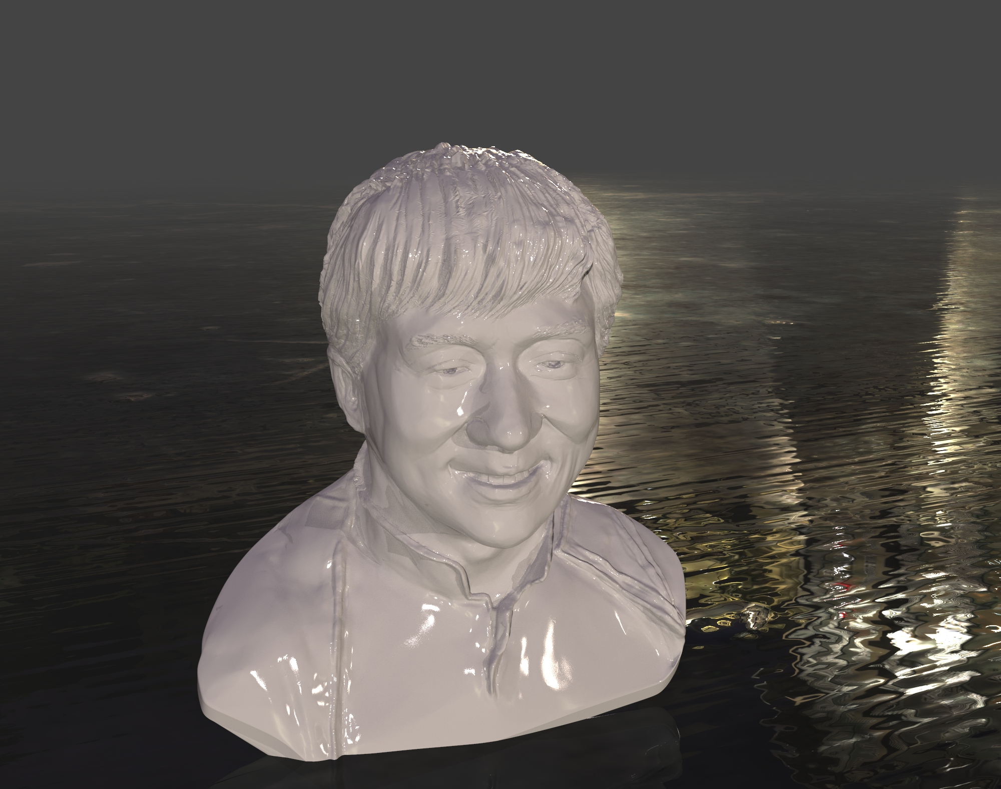 Jackie Chan bust