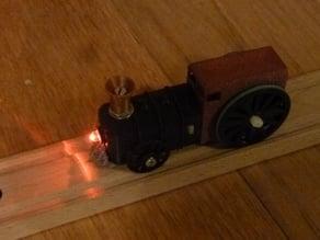 Electric locomotive for Ikea Lillabo/Brio train (USB rechargeable) — v2.0