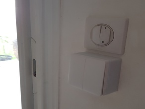 Xiaomi Wall Switch double : adaptateur FR : volets roulants
