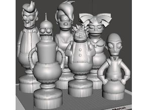 Futurama Chess Set