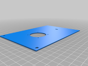 Ender 3 control box fan relocation cover for BLtouch LCD adapter