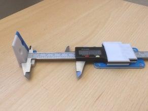3D Printer XYZ E-Step Calibration Tool (Customizable)