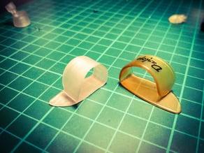 3D Printed Thumb Pick
