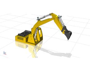 Hydraulic Toy Excavator
