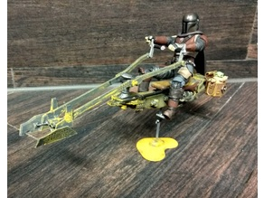 Mandalorian Season 2 Speeder bike