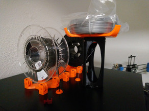 Filament Carousel Tower for IKEA LACK Enclosures