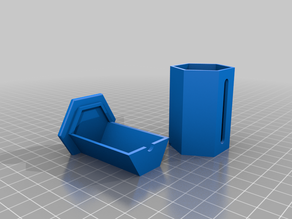 Tube Container 25mm by .9mm NFC tags (Holds 50)