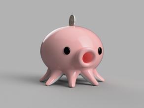 #3DTakoTuesday : Piggy Bank Edition