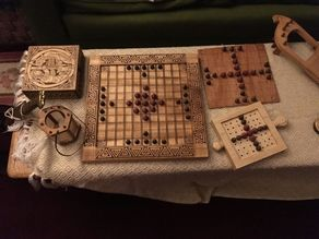 Tafl / Hnefatafl / Brandubh Pieces
