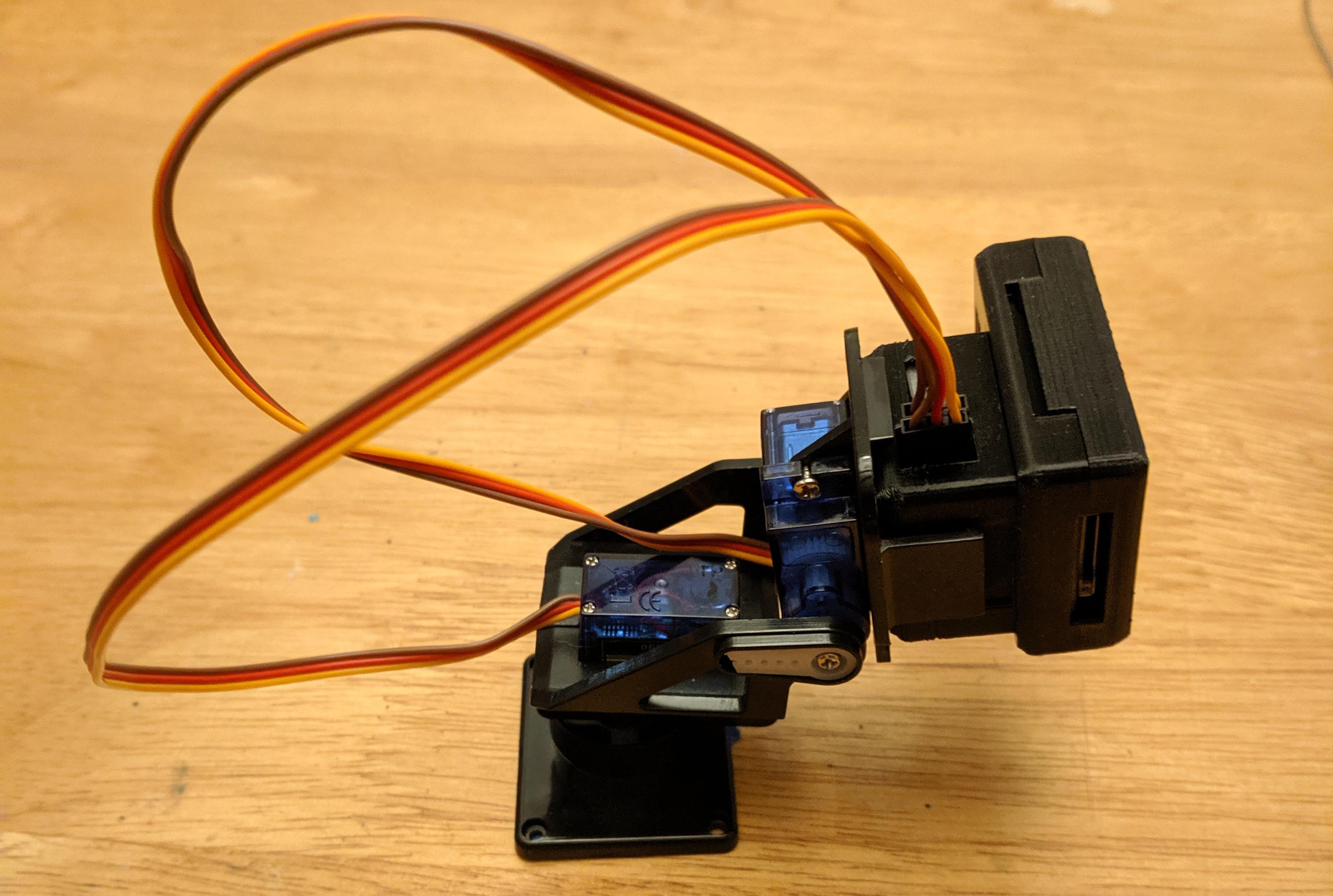 Mini Pan-Tilt ESP32-CAM